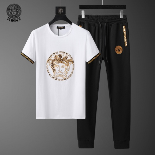 Versace Tracksuits Short Sleeved For Men #858108