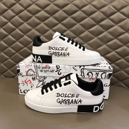 Dolce & Gabbana D&G Casual Shoes For Men #858149
