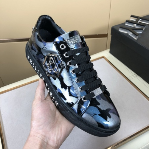 Replica Philipp Plein Shoes For Men #858354 $76.00 USD for Wholesale