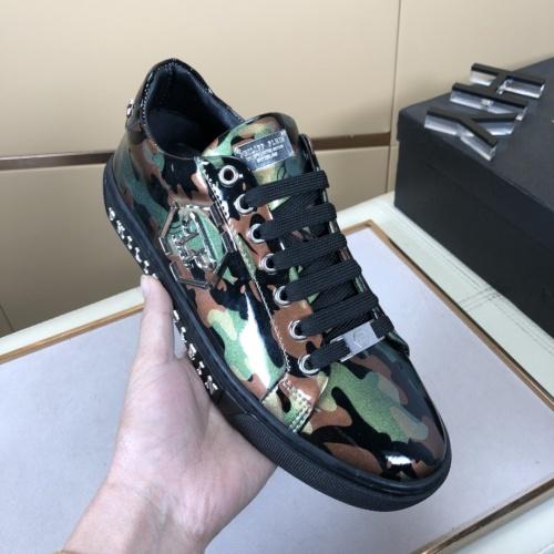 Replica Philipp Plein Shoes For Men #858355 $76.00 USD for Wholesale