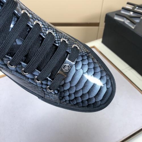 Replica Philipp Plein Shoes For Men #858356 $76.00 USD for Wholesale