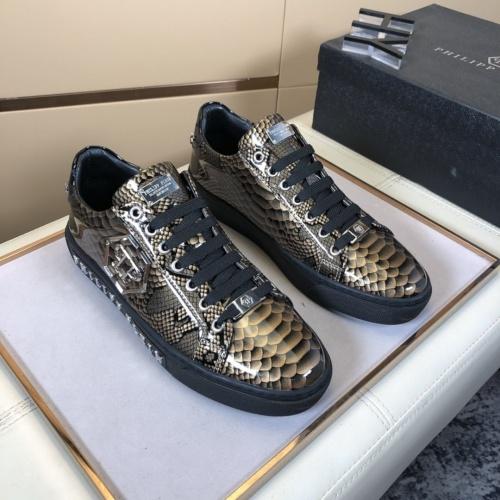 Philipp Plein Shoes For Men #858357 $76.00 USD, Wholesale Replica Philipp Plein Shoes