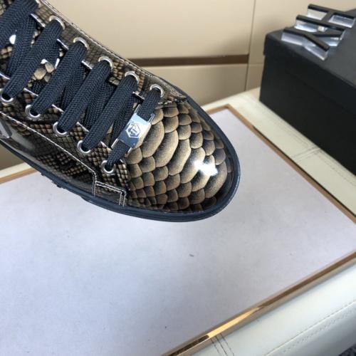 Replica Philipp Plein Shoes For Men #858357 $76.00 USD for Wholesale