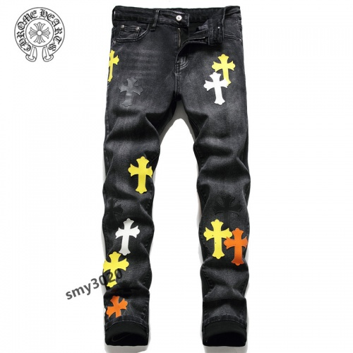 Chrome Hearts Jeans For Men #858441