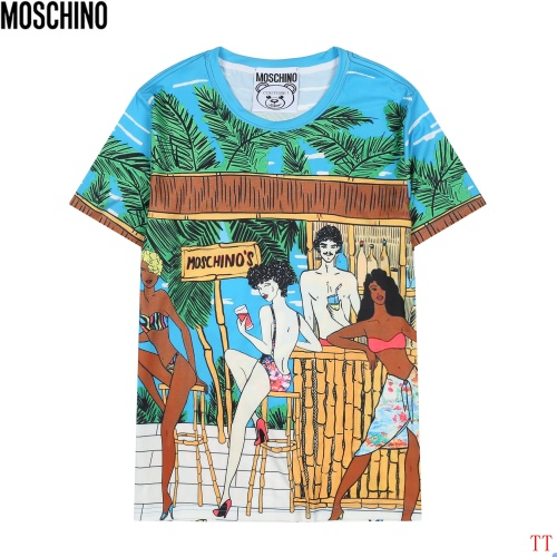 Moschino T-Shirts Short Sleeved For Men #858568