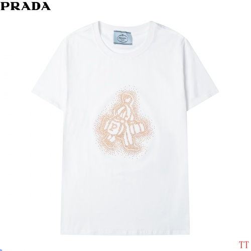 Prada T-Shirts Short Sleeved For Men #858605
