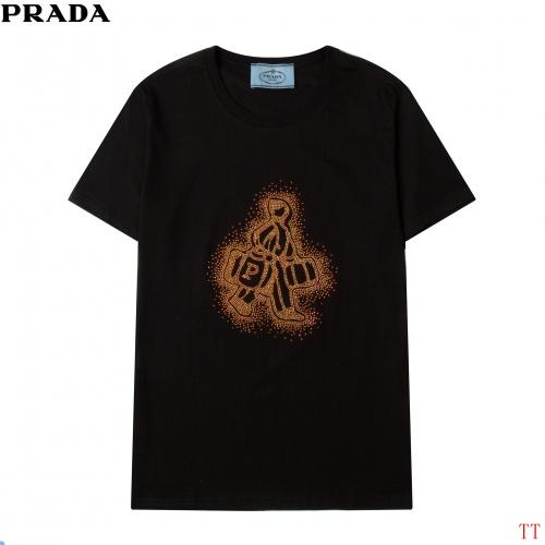 Prada T-Shirts Short Sleeved For Men #858606