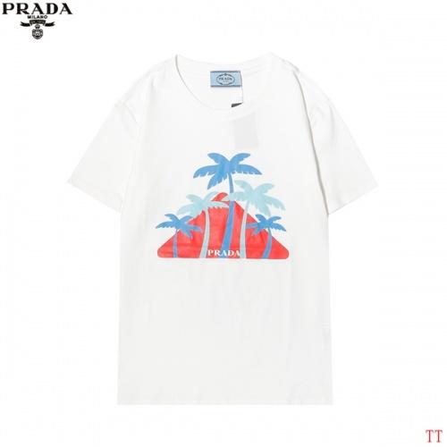 Prada T-Shirts Short Sleeved For Men #858607