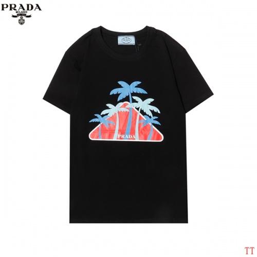 Prada T-Shirts Short Sleeved For Men #858608