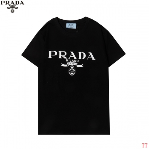Prada T-Shirts Short Sleeved For Men #858609