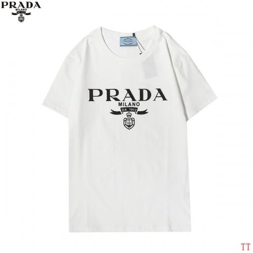 Prada T-Shirts Short Sleeved For Men #858610