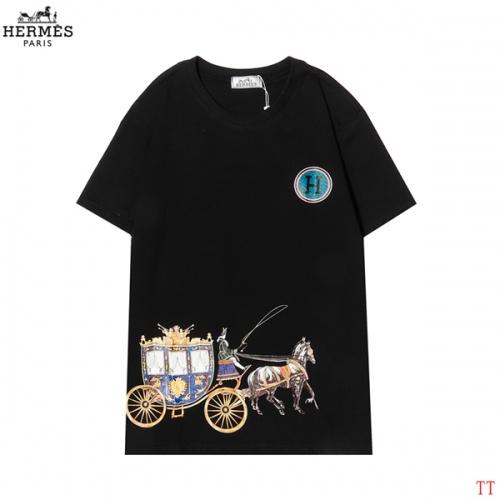 Hermes T-Shirts Short Sleeved For Men #858616