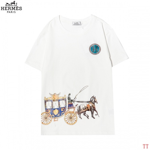 Hermes T-Shirts Short Sleeved For Men #858617