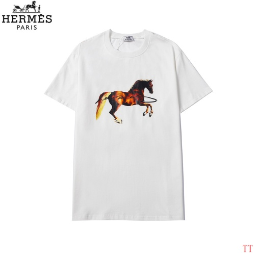 Hermes T-Shirts Short Sleeved For Men #858618