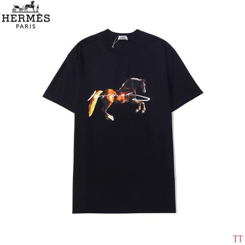 Hermes T-Shirts Short Sleeved For Men #858619
