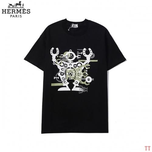 Hermes T-Shirts Short Sleeved For Men #858621