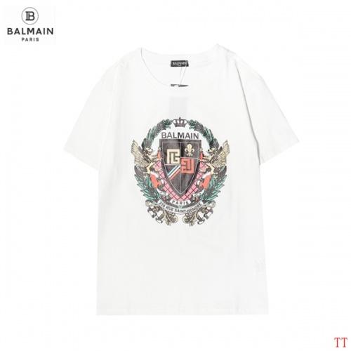 Balmain T-Shirts Short Sleeved For Men #858627