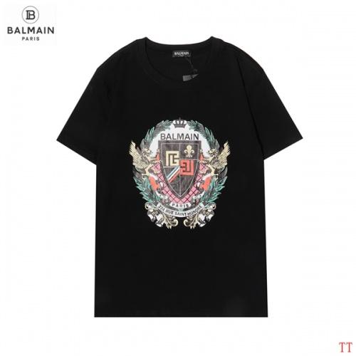 Balmain T-Shirts Short Sleeved For Men #858628