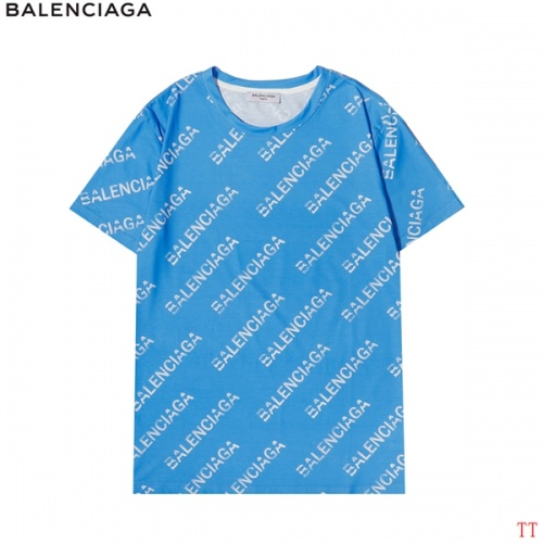 Balenciaga T-Shirts Short Sleeved For Men #858630