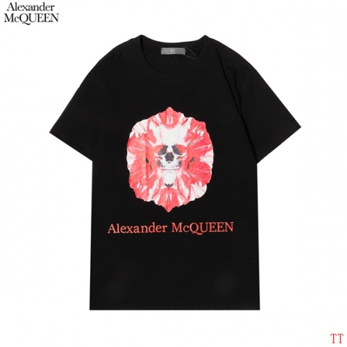 Alexander McQueen T-shirts Short Sleeved For Men #858640