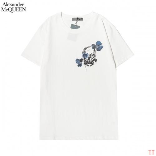 Alexander McQueen T-shirts Short Sleeved For Men #858642