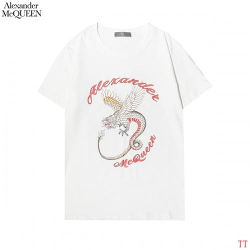 Alexander McQueen T-shirts Short Sleeved For Men #858645
