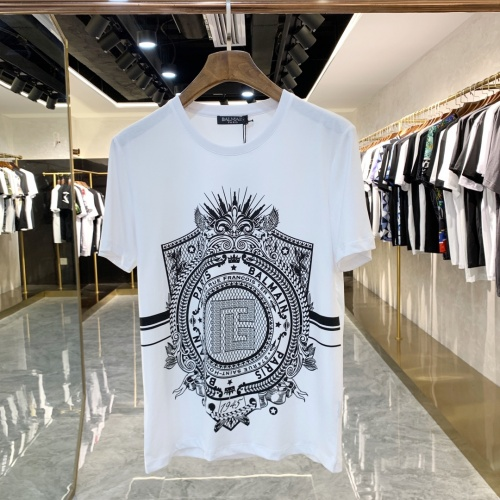 Balmain T-Shirts Short Sleeved For Men #858655