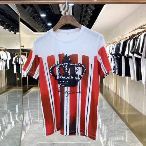 Dolce & Gabbana D&G T-Shirts Short Sleeved For Men #858658