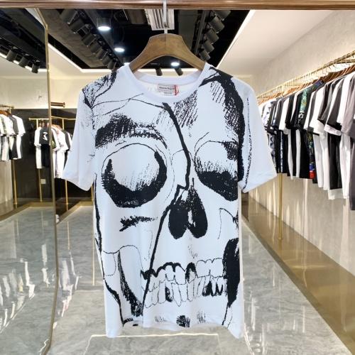 Alexander McQueen T-shirts Short Sleeved For Men #858659