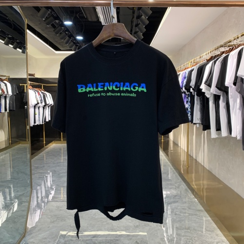 Balenciaga T-Shirts Short Sleeved For Men #858664