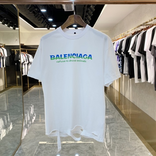 Balenciaga T-Shirts Short Sleeved For Men #858665