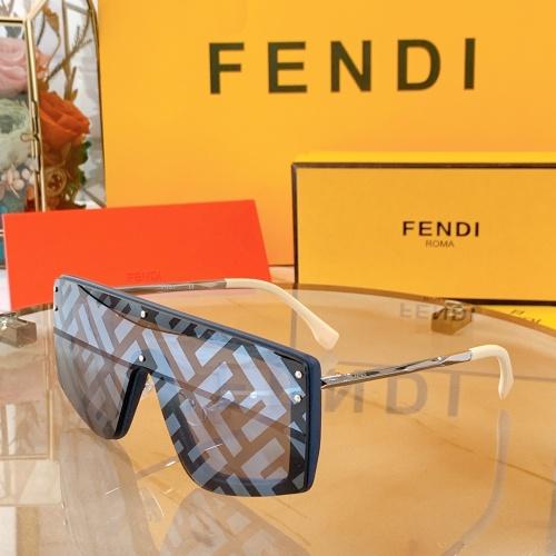 Fendi AAA Quality Sunglasses #858712