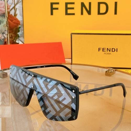 Fendi AAA Quality Sunglasses #858713