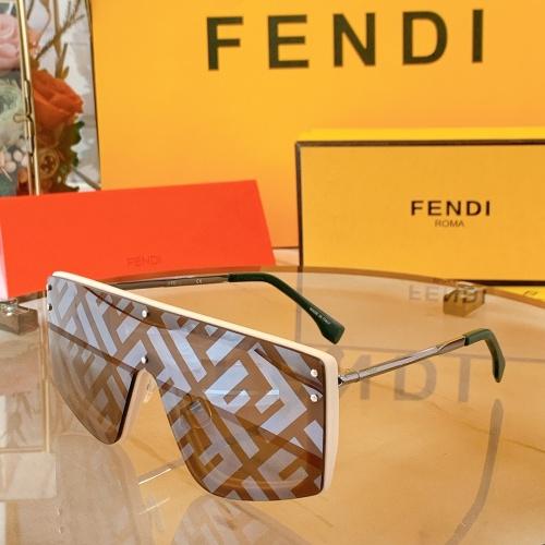 Fendi AAA Quality Sunglasses #858716