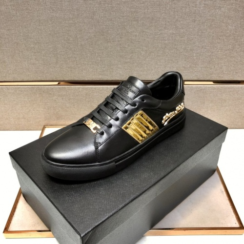 Replica Philipp Plein Shoes For Men #858845 $80.00 USD for Wholesale