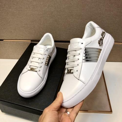 Replica Philipp Plein Shoes For Men #858846 $80.00 USD for Wholesale