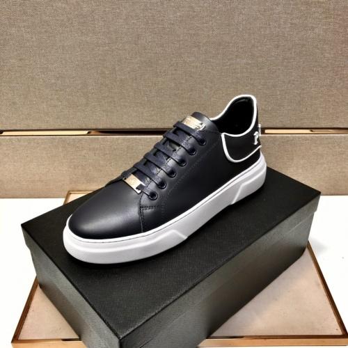 Replica Philipp Plein Shoes For Men #858847 $80.00 USD for Wholesale