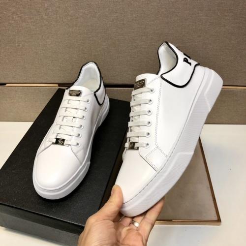 Replica Philipp Plein Shoes For Men #858850 $80.00 USD for Wholesale