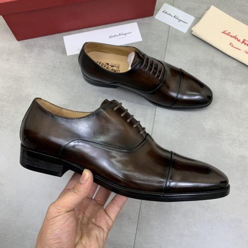 Ferragamo Leather Shoes For Men #859313