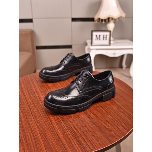 Prada Leather Shoes For Men #859358