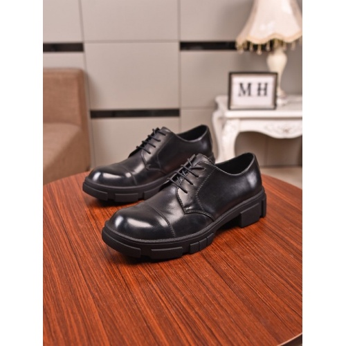 Prada Leather Shoes For Men #859360