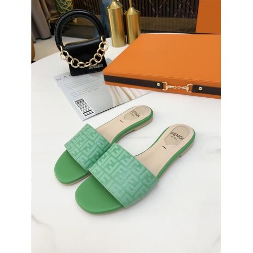 Fendi Slippers For Women #859380