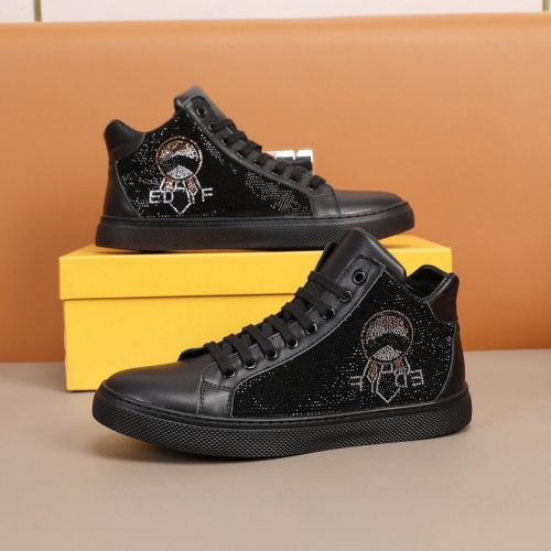 Fendi High Tops Casual Shoes For Men #859589