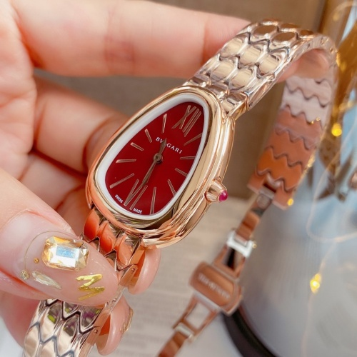 Replica Bvlgari AAA Quality Watches For Women #859774 $115.00 USD for Wholesale