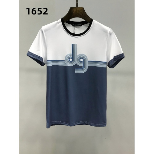Dolce & Gabbana D&G T-Shirts Short Sleeved For Men #859837