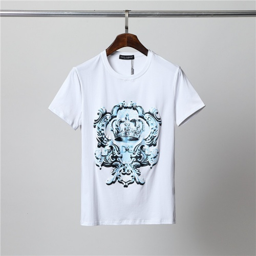 Dolce & Gabbana D&G T-Shirts Short Sleeved For Men #859840