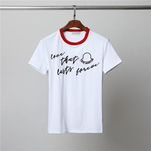 Moncler T-Shirts Short Sleeved For Men #859848