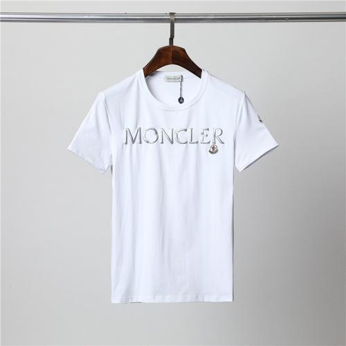 Moncler T-Shirts Short Sleeved For Men #859876