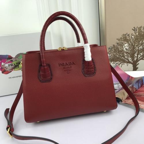 Prada AAA Quality Handbags For Women #860089