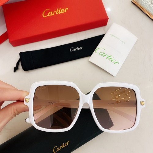 Cartier AAA Quality Sunglasses #860148